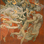 Orestes Pursued by the Furies, John Singer Sargent