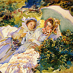 Simplon Pass. The Tease, John Singer Sargent