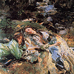 The Brook, John Singer Sargent