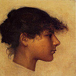 John Singer Sargent - Head of Ana - Capri Girl