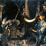 Shoeing the Ox, John Singer Sargent