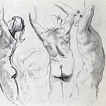 Studies of a Nude Youth, John Singer Sargent