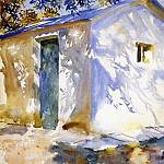 John Singer Sargent - Corfu. Lights and Shadows