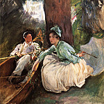 By the River, John Singer Sargent