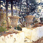 John Singer Sargent - Corfu. The Terrace