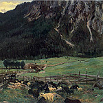 John Singer Sargent - Sheepfold in the Tirol