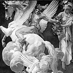 Perseus on Pegasus Slaying Medusa, John Singer Sargent