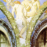 Three Nudes with Cupid, John Singer Sargent