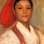 Head of a Neapolitan Boy, John Singer Sargent