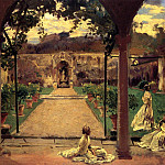 Ladies in a Garden, John Singer Sargent