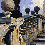 The Steps of the Church of S. S. Domenico e Siste in Rome, John Singer Sargent