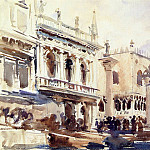 The Piazzetta and the Doges Palace, John Singer Sargent