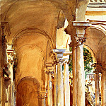 John Singer Sargent - Genoa, the University