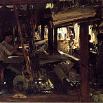 John Singer Sargent - Granada. The Weavers