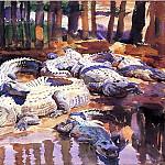 Muddy Alligators, John Singer Sargent