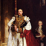 John Singer Sargent - Charles Stewart, Sixth Marquess of Londonderry, Carrying the Great Sword of State at the Coronation