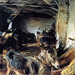 John Singer Sargent - Stable at Cuenca