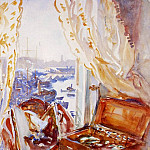 View from a Window, Genoa, John Singer Sargent