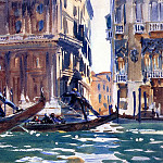 On the Canal, John Singer Sargent