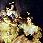 John Singer Sargent - Mrs. Carl Meyer and Her Children.