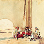 John Singer Sargent - A Spanish Barracks