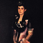 John Singer Sargent - Mrs. Richard H. Derby