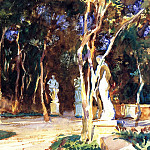 Shady Paths, John Singer Sargent