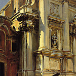 John Singer Sargent - Corner of the Church of St. Stae, Venice