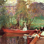 A Boating Party, John Singer Sargent