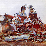 The Wrecked Sugar Refinery, John Singer Sargent
