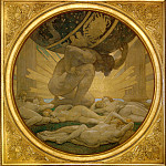 John Singer Sargent - Atlas and the Hesperides