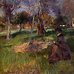 In the Orchard, John Singer Sargent