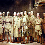 John Singer Sargent - General Officers of World War I