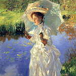 A Morning Walk, John Singer Sargent