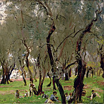 John Singer Sargent - The Olive Grove