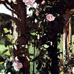 John Singer Sargent - A Rose Trellis (also known as Roses at Oxfordshire)