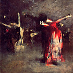Study for The Spanish Dance, John Singer Sargent