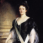 John Singer Sargent - H. R. H. the Duchess of Connaught and Strathearn