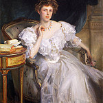 John Singer Sargent - Mrs. William George Raphael (Margherita Goldsmid)