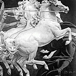 John Singer Sargent - Apollo in His Chariot with the Hours