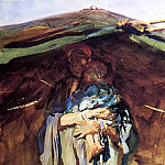 Bedouin Mother, John Singer Sargent