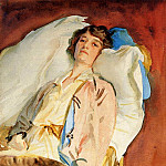John Singer Sargent - Alice Runnels James (also known as Mrs William James)