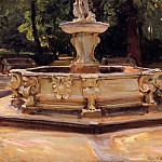 A Marble Fountain at Aranjuez, Spain, John Singer Sargent