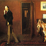 John Singer Sargent - Robert Louis Stevenson and His Wife