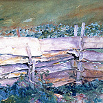 The Fence, John Singer Sargent