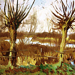 Landscape with Trees, Calcot, John Singer Sargent