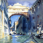 John Singer Sargent - Bridge of Sighs