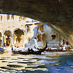 Under the Rialto Bridge, John Singer Sargent