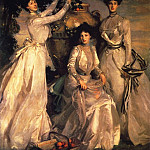 John Singer Sargent - The Ladies Alexandra, Mary and Theo Acheson