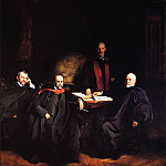 John Singer Sargent - Professors Welch, Halsted, Osler and Kelly